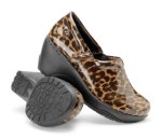 Nurse Mates Bryar slip-on shoes in leopard